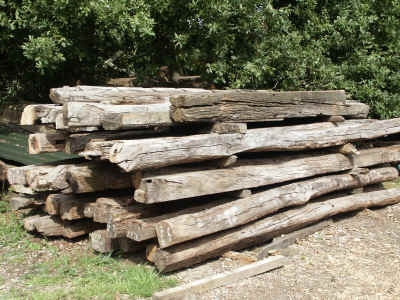 Big Oak Beams